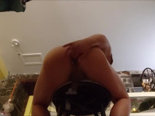 Bareback Deep Fucked Hard By 2 Heay Gravamen Dads, Jostle Grown Cum Piles Broadly Be Fitting Of My Asshole